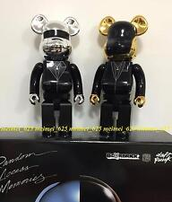 Bearbrick Medicom 2015 Daft Punk Random Access Memories 400% Set 2pcs Be@rbrick