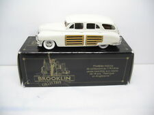 BROOKLIN MODELS BRK43 1948 PACKARD STATION  SEDAN 1/43 SCALE