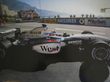 Poster West McLaren Mercedes MP4/17D 2003 #6 Kimi Raikkonen (FIN) type 2