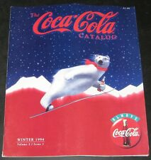 The Coca Cola Coke Catalog Winter 1994
