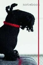 Best in Show Black Scottish Terrier Knitted Dog Notebook by Sally Muir (2012)