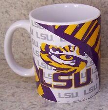 Coffee Mug NCAA Louisiana LSU Tigers NEW 11 ounce cup with gift box