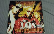 THE LOX signed auto MONEY POWER & RESPECT Vinyl LP JADAKISS STYLES P SHEEK LOUCH
