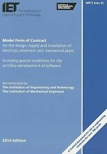Model Form of Contract for the Design, Supply and Installation of Electrical, El
