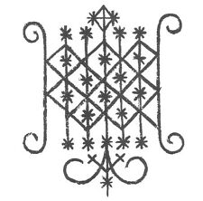 Voodoo amuleto Loa Ogun spessore udienza-rituale magia