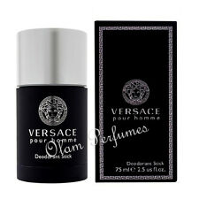 Versace Pour Homme Deodorant Stick 2.5oz 75ml * New in Box * Low Shipping *