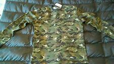 Polo Ralph Lauren RRL Mens Thermal Waffle Camo Army camouflage Shirt Med bape