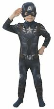 Rubies Captain America Winter Soldier Kids Costume Fancy Dress - Small 3-4 Years