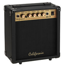 California CG-15 15 Watts Guitar Amplifier, Overdrive