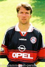 Lothar Matthäus Bayern München 1997-98 seltenes Foto