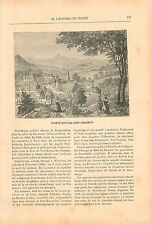 Port-Royal des Champs Saint Vincent de Paul Peiresc 19th XIX GRAVURE OLD PRINT