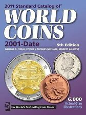 2011 Standard Catalog of World Coins 2001-Date, , Good Condition, Book