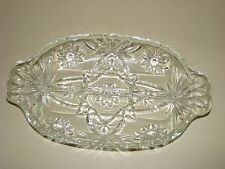 Anchor Hocking Early American Prescut EAPC Star of David Divided Relish Tray