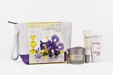Nuevo Decleor 4 piezas Kit de anti-envejecimiento Con Bolsa de Lavado de Viaje-la piel madura