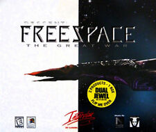 Freespace The Great War & Silent Threat 3CD PC dual jewel cases