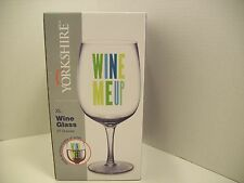 Yorkshire XL Wine Glass Giant Birthday Gag Gift Holds Entire Bottle of Wine!