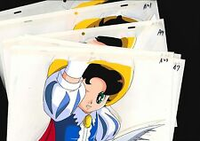 Japanese Animation Cel 7 set Douga Princess Knight Ribbon no Kishi Rimited #37