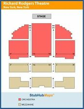 2 HAMILTON TICKETS 02/28/17 * SOLD OUT * CENTER ROW * (New York)
