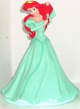 Disney Princess Ariel Mermaid Bank Coin Money Theme Parks Green Dress Fork New