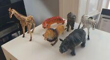 6 X Modelo De Juguete grandes figuras de acción animales salvajes del mundo, juguetes nuevos £ 6.99