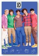 POP MUSIC POSTER One Direction Blue