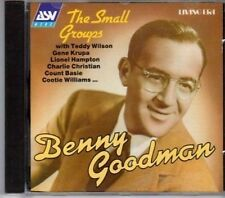 (BK431) Benny Goodman, The Small Groups - 1994 DJ CD