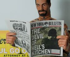 1/6 Scale Newspapers New York Bulletin 2 Pack for Daredevil Matt Murdock