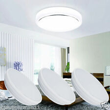 LED Flush Mounted Ceiling Down Light 18W Bright Cool White Kitchen Spotlight UK