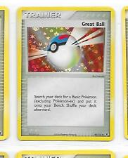 GREAT BALL - HOLO CARD - 92/112 - POKEMON - EX FIRE RED LEAF GREEN - Discounts!