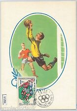 51294 - Czechoslovakia - MAXIMUM CARD - 1964 OLYMPIC GAMES in TOKYO: FOOTBALL