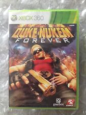 NEW FACTORY SEALED DUKE NUKEM FOREVER ORIGINAL RELEASE FOR XBOX 360
