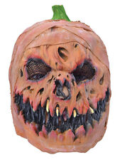 HORROR PUMPKIN OERHEAD RUBBER MASK HALLOWEEN PARTY FANCY ACCESSORY