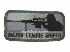 Black Ops Major League Sniper Barrett M82 M107 Military Army Navy Seal Patch New