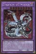 Drago Supremo Chimeratech YU-GI-OH! PGLD-IT056 Ita RARA ORO 1 Ed
