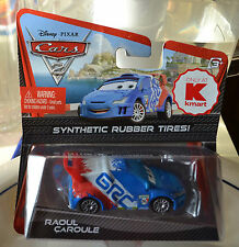 DISNEY PIXAR CARS 2 RAOUL CAROULE SYNTHETIC RUBBER TIRES! NEW
