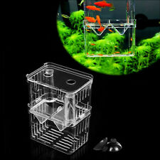 Aquarium Fish Breeding Hatchery Young Fish Breeder Incubator Isolation Tank Box