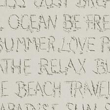 Rasch Barbara Becker Beach Sand Typography Pattern Wallpaper Textured 476309