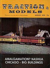 Traction & Models Magazine : August 1970 : Amalgamation? Nashua Chicago