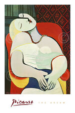 The Dream by Pablo Picasso Art Print Cubism Poster 24x36