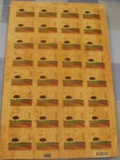 COMPLETE SHEET CORK 32 STAMPS - FIRST CORK STAMP ISSUE IN THE WORLD *BEST PRICE*