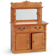"American Girl REBECCA SIDEBOARD for 18"" Dolls Cabinet Drawers Rebecca's NEW-2"