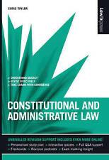 Derecho Constitucional Y Administrativo por Chris Taylor (libro en rústica, 2008)