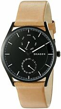 Skagen Men's SKW6265 'Holst' Multi-Function Brown Leather Watch