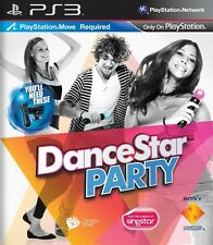 DANCESTAR PARTY    PLAYSTATION 3 NUOVO!!!
