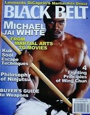 2/02 BLACK BELT MAGAZINE MICHALE JAI WHITE KUK SOOL WON KARATE MARTIAL ARTS