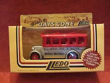 LLEDO  Days-Gone  Albion Single Decker Coach  #10002 Silver Service  NIB  (8,1)