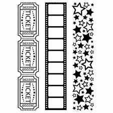 MOVIE THEME -  DARICE Embossing 3 border folders - Cuttlebug Compatible