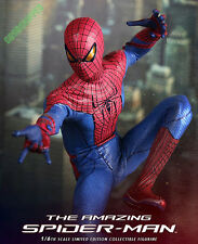 READY HOT TOYS 2012 AMAZING SPIDERMAN PETER PARKER ANDREW GARFIELD 1/6 MISB