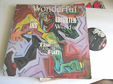 THE FALL wonderful and frightening world of LP '84 NM virgin prunes rare orig !!