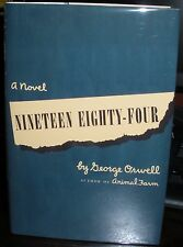 George Orwell 1984 Nineteen Eighty-Four 1949 HC DJ first printing blue jacket